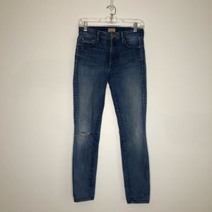 MOTHER High Waisted Looker Denim Jeans